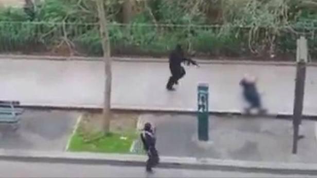gli assalitori a Charlie Hebdo