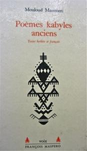 Poèmes kabyles anciens