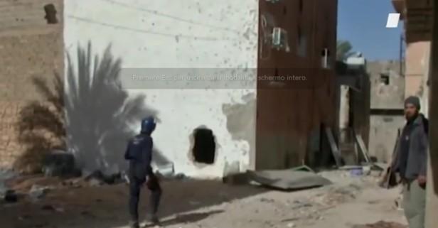 Forze dell'ordine nelle strade di Ghardaia