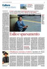 Intervista sul Corriere del Trentino