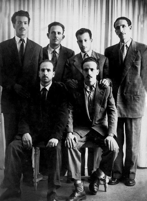 I 6 leader storici del FLN